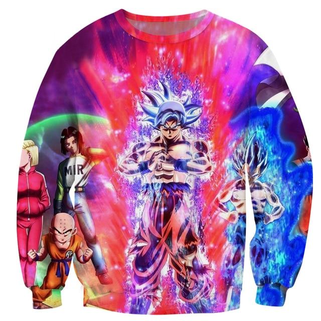 Cloudstyle Dragon Ball Super 3D Sweatshirt 5