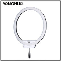 YongNuo YN308 Selfie Ring Light 3200K~5500K Bi Color Temperature LED Video Light Wireless Remote CRI95 with Handle Grip