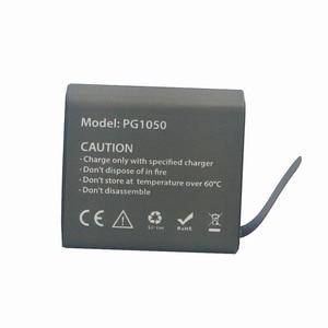 4 шт. PG1050 аккумуляторная литий-ионная запасная батарея 1050 мАч для Eken V8s H8 H9 H8R H9R H8 Pro спортивная экшн-Камера Запчасти и аксессуары