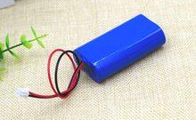 Batterie au lithium 7.2 V / 7.4 V / 8.4 V, 18650, 2200 mA, Rechargeable, pack de batteries, carte de protection des haut-parleurs, mégaphone