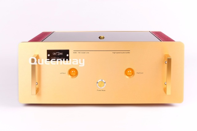 N-023 Study/Copy Dartzeel NHB108 Deluxe Version Power Amplifier HIFI NO Negative Feedback Amp Circuit Output Power 180w 8omhs