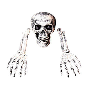 New Esqueleto halloween Skeleton Decoration Halloween Horror Buried Alive Skeleton Skull Garden Yard Lawn Decoration for Party 4