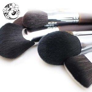 Image 4 - ENERGY Brand Professional 22pcs Makeup Goat Hair Brush Set Make Up Brushes +Bag Brochas Maquillaje Pinceaux Maquillage tm1