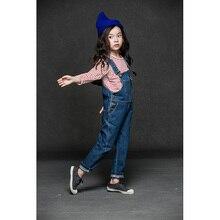 Девочки деним общая чулок джинсы дети девочек одежда