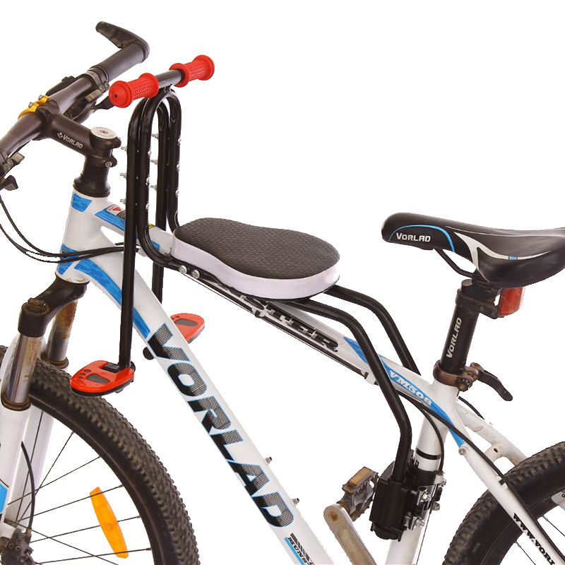 AOXIN Mountain Bike front seat mat Steel PU leather waterproof Children bicycle safety chair