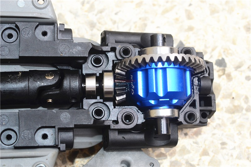 1PC TRAXXAS E-REVO Differential Cover Aluminum Front/Middle/Rear Differential Gearbox Gears Shell for Rock Crawler RC Cars купить в Москве 2019