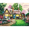 Handpainted 1Set DIY Digital Oil Painting By Numbers Wall Decoration For Home Frameless Canvas Fairy Tale