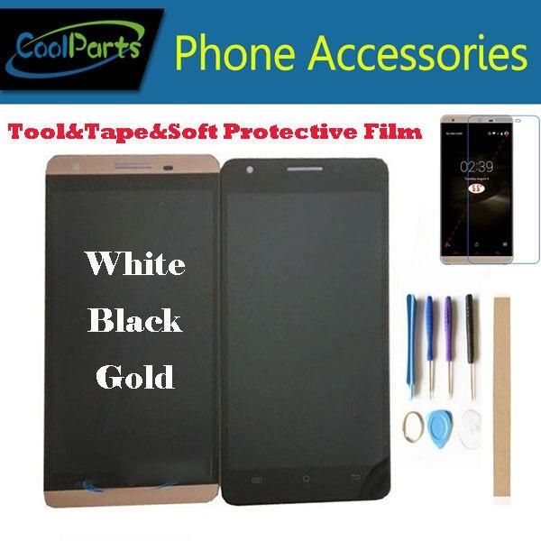 1 шт./лот Высокое качество для Cubot X15 ЖК-дисплей Экран дисплея и сенсорный экран в сборе замену белый золотистый и черный Цвет с комплектом