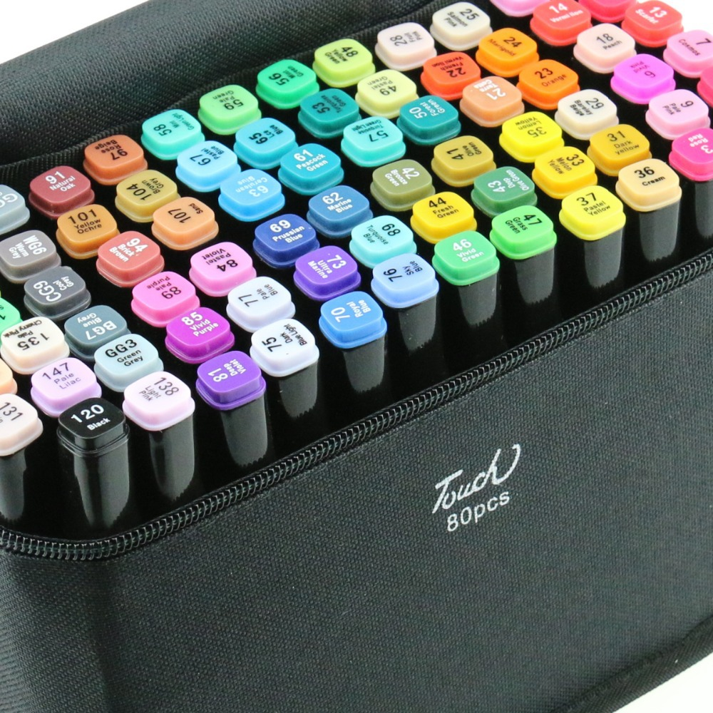 Best Art Markers For Coloring Art Markers For Coloring Books ...