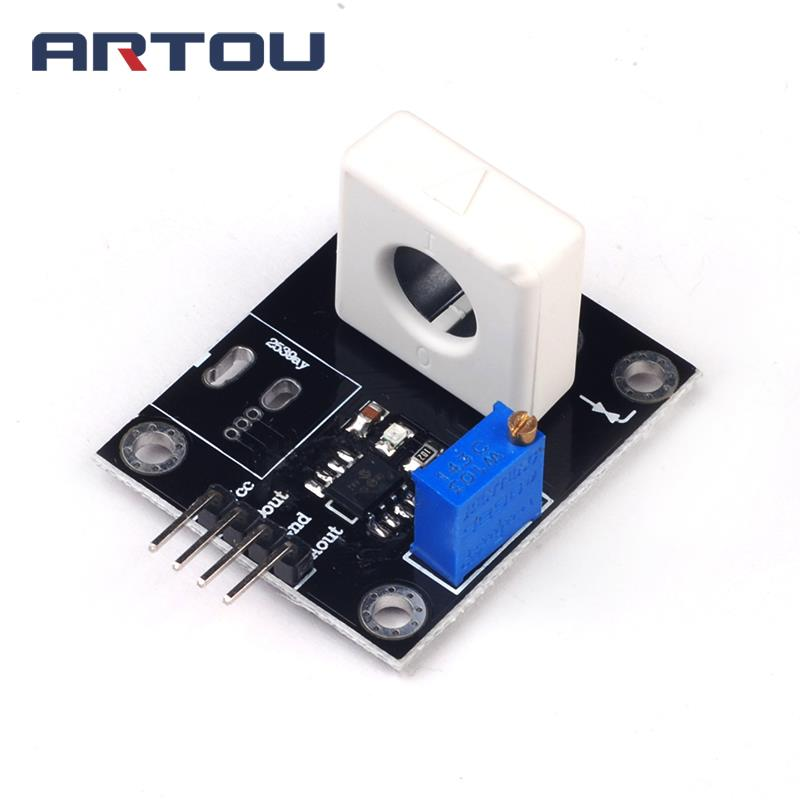 WCS1600 WCS1700 WCS1800 Hall Current Sensor Adjustable DC100A 70A 35A Short Over-Current Detector Protection Module