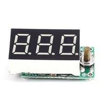 Цифровой вольтметр Батарея тестер для 2 S 12 В литиевых Батарея 9 s Никель водорода Батарея ячейки Количество электрических зарядки Дисплей