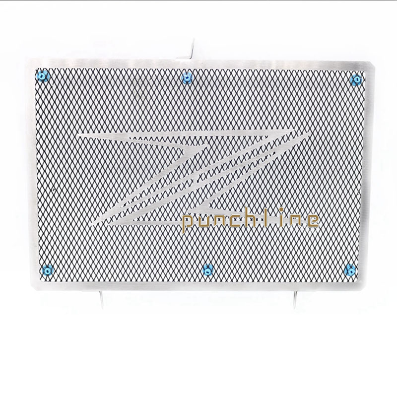 For Kawasaki Z1000 2010-2016 Z1000SX Z1000 SX 2011-2015 Motorcycle Accessories Radiator Grille Guard Cover Fuel Tank Protectio motorcycle radiator protective cover grill guard grille protector for kawasaki z1000sx ninja 1000 2011 2012 2013 2014 2015 2016