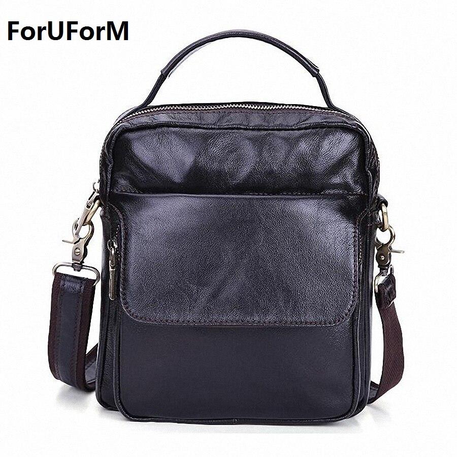Men messenger bags luxury genuine leather men bag designer high quality shoulder bag casual zipper office bags for men LI-1779