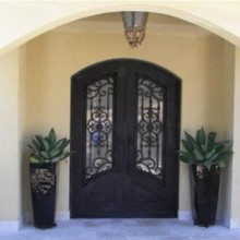 Двери из кованого железа memphis железные двери Сакраменто