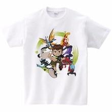 2019 New Omnitrix Ben 10 Kids T Shirt Genuine Children T-shirt Baby Toddler Summer Tops Boys Girls Anime Cartoon Tees 3T-9T