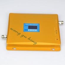 El mejor precio! amplificador de Señal de doble Banda 2G 3G Pantalla LCD! GSM 900 GSM 2100 WCDMA 3G GSM Teléfono Móvil Amplificador de Refuerzo Repetidor