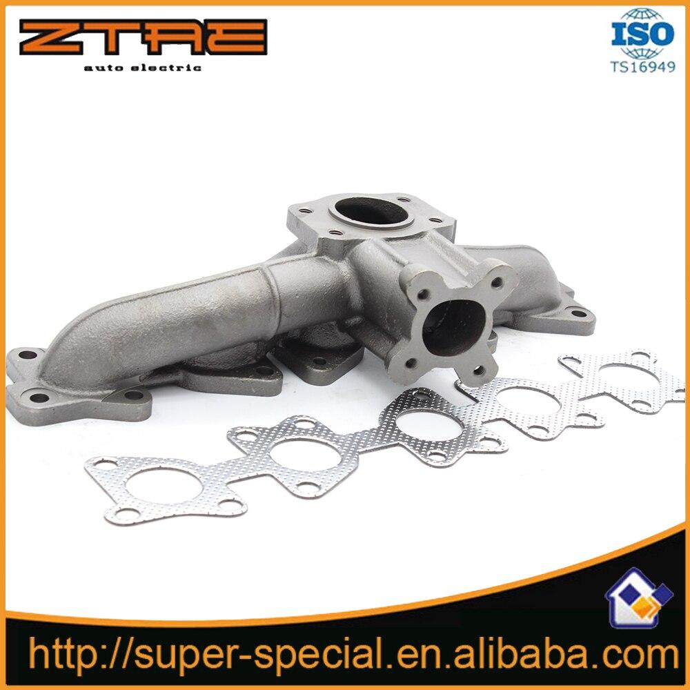 Coletor turbo para audi s2 s4 s6 rs2 k24 k26 20 v teste padrão de ferro fundido turbo turbolade manifold