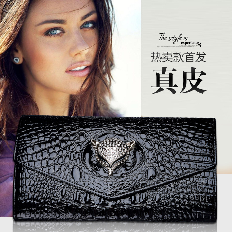 KAIDESE leather envelope hand-grab bag of the new link of the new link with the bag free of postage preset the common link