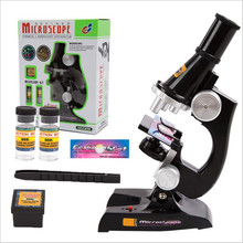 Children's Science Exploration Early Learning Education Toys Science Education Microscope Set Convenient Student Science Gifts