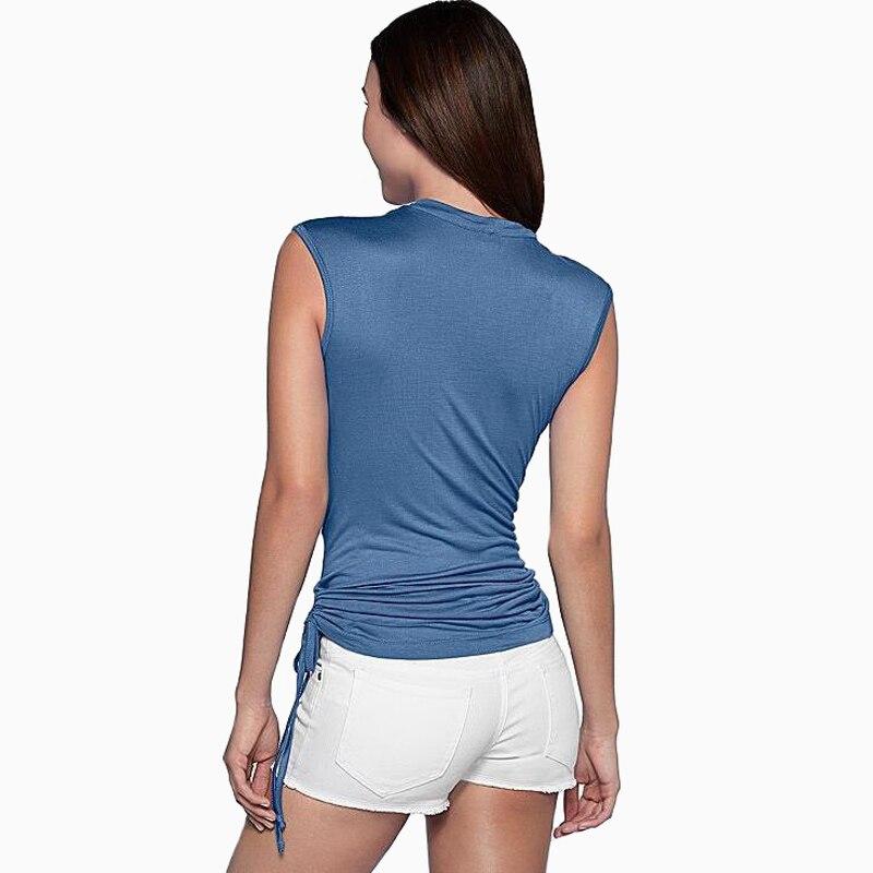 BOBOKATEER camiseta sin mangas mujeres tops 2017 verano flojo camisetas para muj