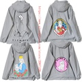 Ripndip Jacket Men Women Cood Quality Hip Hop Clothing Outwear 3M Reflective Cartoon Pocket Cat Windbreaker Ripndip Jacket Coats