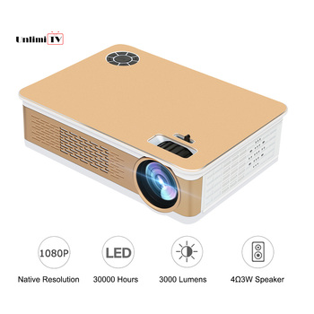 1080p Led Home Theater Projector 3000 Lumens 150 large Beamer LCD pojetor Overhead proyector full hd for Children TV/Game Cinema Проектор