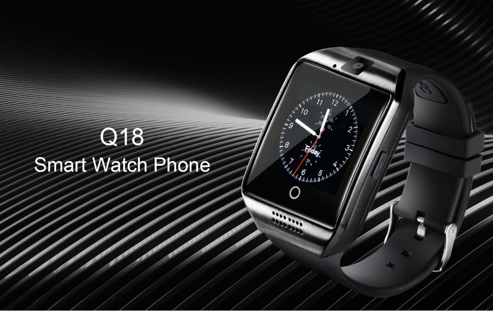 Bluetooth Smart Watch Q18 With Camera Facebook Whatsapp Twitter 001