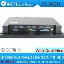 """Все в одном с сенсорным экраном 15 """"d2550 4 Г RAM 256 Г HDD SSD 1 ТБ"""