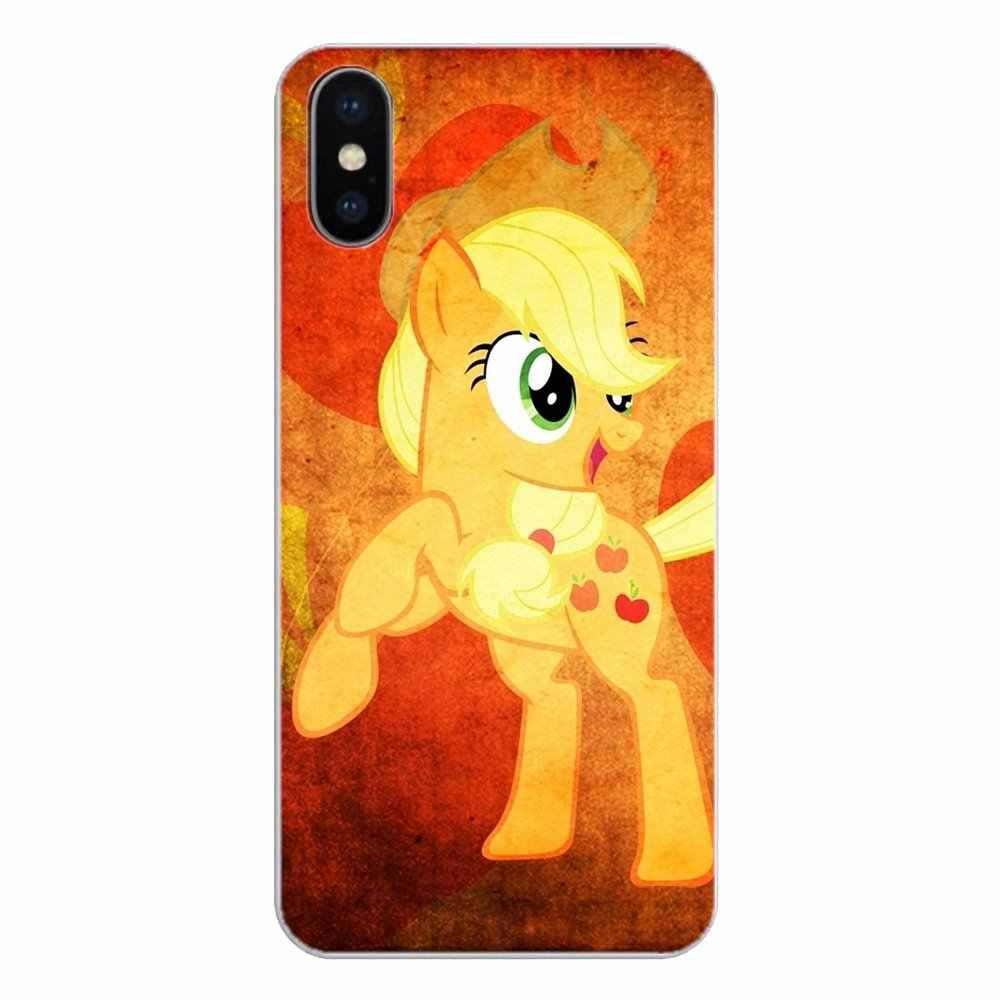Желтый my little pony Applejack силиконовый чехол для телефона для Xiaomi Redmi 4 3 3 S Pro mi 3 mi 4 mi 4i mi 4C mi 5 mi 5S mi Max Note 2 3 4
