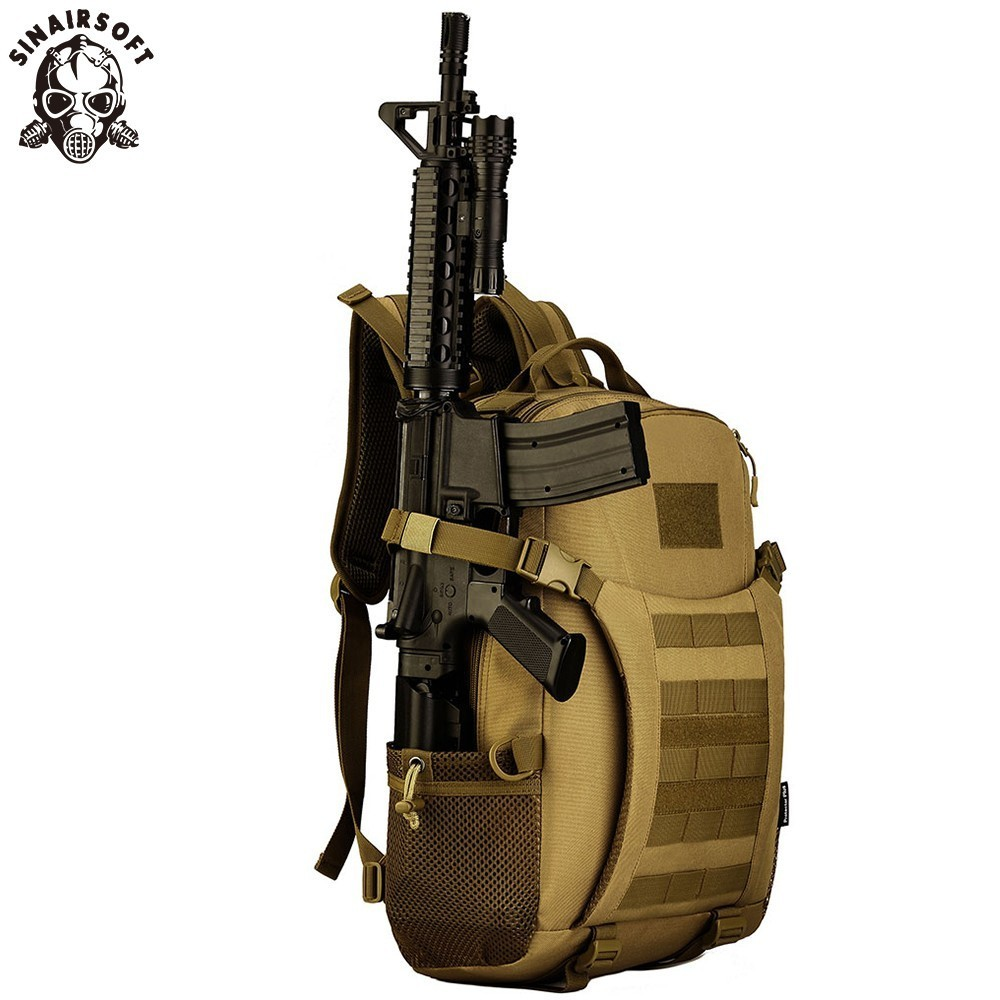 SINAIRSOFT militaire tactique sac à dos 35L sac à dos 15 pouces ordinateur portable en Nylon pêche Camping chasse réglage Sport sac sacs