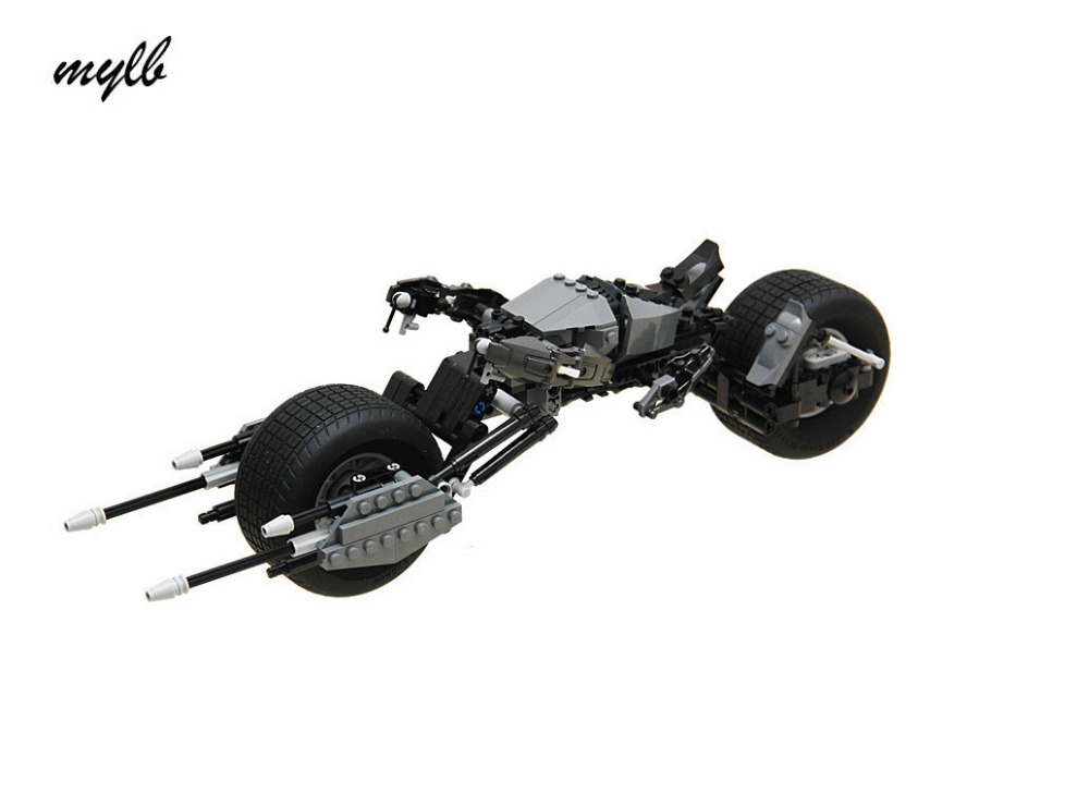 mylb  Super Heroes Batman Bat-Pod Motorcycle bricks blocks New year Gift Toys for children  technic  dropshipping