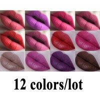 15 Colors Set Waterproof Matte Liquid Lipstick Kit Moisturizer Lip Stick Long Lasting Lip Gloss Cosmetic