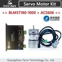 TECNR Leadshine сервопривод ACS606 и бесщеточный Серводвигатель BLM57180 1000 кодер 1000 линий