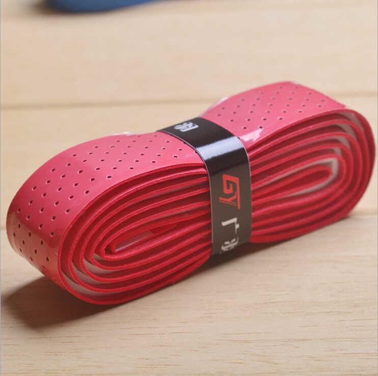 1pc Thick 2.0mm Anti-slip Absorb Sweat Tennis rackets over grip overgrip,  racket grip sweatband squash overgrip