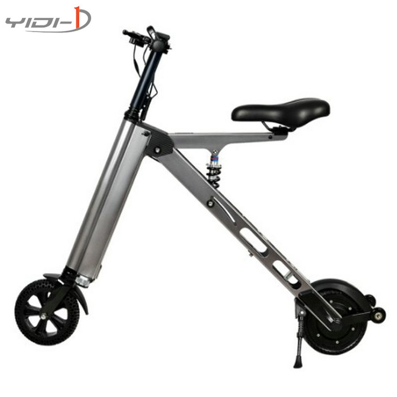 Two wheels electric scooter easy to carry patinete electrico city kick scooter electric 8 inch Inflatable tire dualtron цена