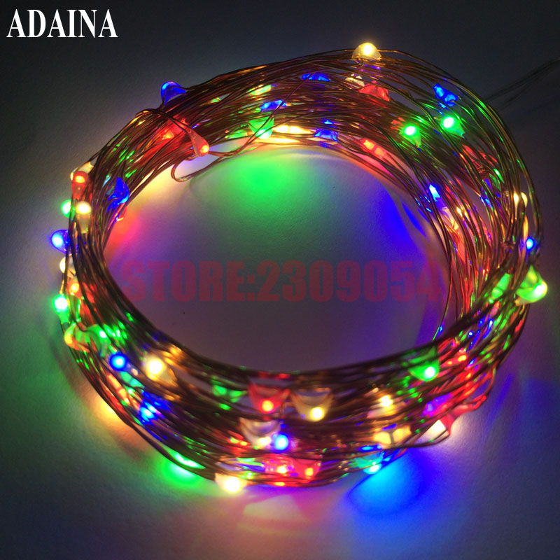 10M 100 LED Factory Copper Wire String Light Outdoor Waterproof Fairy Patio Lamp For Garden Wedding Christmas Party Decoration