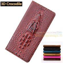 Топ Натуральная Кожа Flip Стенд Luxury Card Case 3D Крокодил зерна Случаи Мобильного Телефона Для Leeco Пусть V Le 2 S 5.5 дюймовый