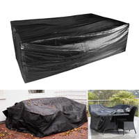 6 Seater Furniture Cover Grand Piano Cover Waterproof Outdoor Table Chair Patio Garden Furniture Rain Covers