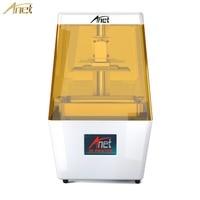Anet N4 3D принтеры УФ отверждения ЖК дисплей Экран поддержка автономной печати с 3,5 дюймовый цветной сенсорный экран ультра высокой точности