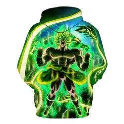 Hot Anime Dragon Ball Hoodies Men Women 3D Sweatshirts Super Saiya Vegeta Kids Goku Hoodie Male Casual Coat Cartoon Boys Outwea 6