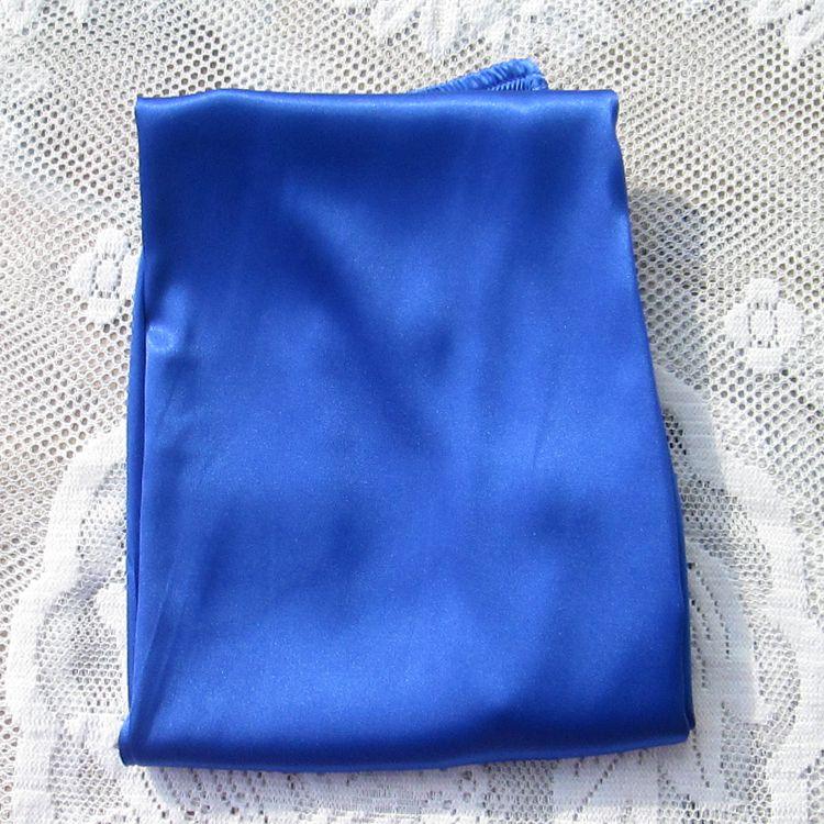 Women Faux Silk Casual Sleep Bottoms Solid Elastic Waist 9 Colors Long Pajamas Trousers Spring Autumn Plus Size XS-3XL 035-338 4