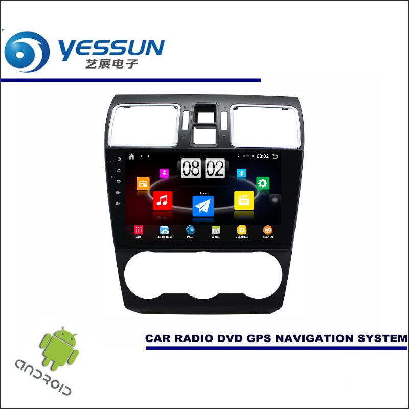 YESSUN Car Android Player Multimedia For Subaru XV / Impreza 2011~2016 Radio Stereo GPS Nav Navi Map ( no CD DVD ) 9 HD Screen yessun for mazda cx 5 2017 2018 android car navigation gps hd touch screen audio video radio stereo multimedia player no cd dvd