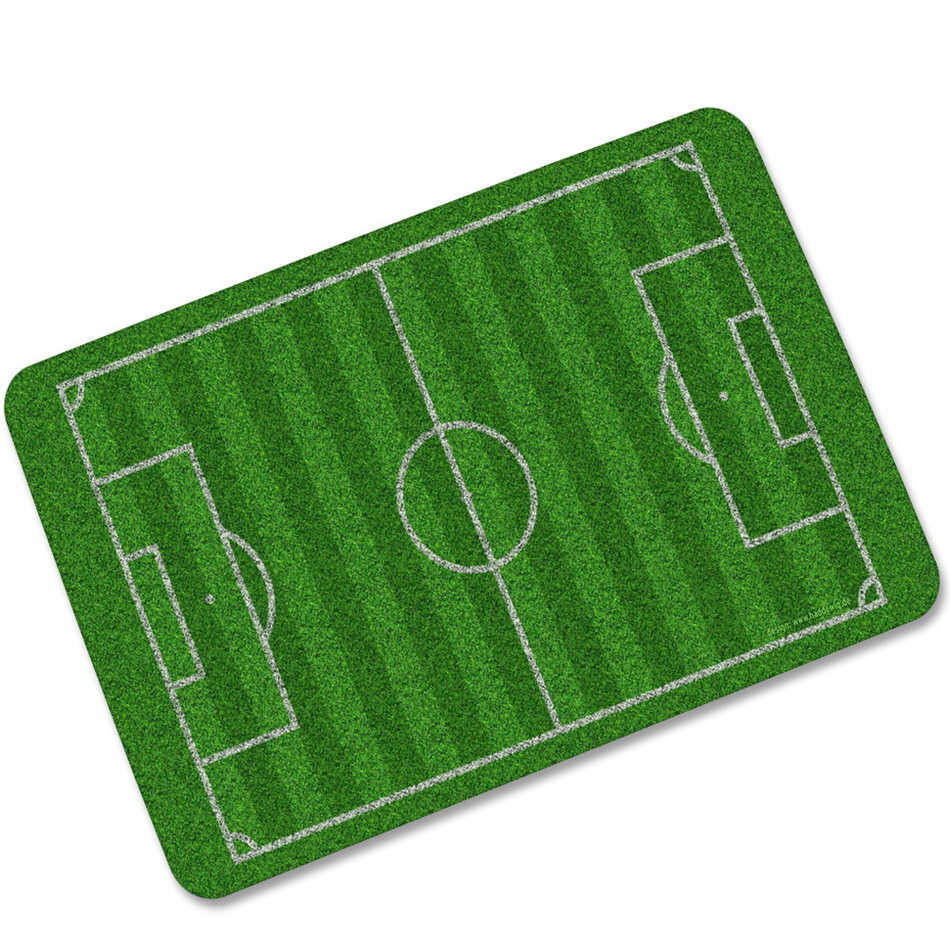 Us 8 9 46 Off Cammitever Football Field Carpets For Living Room Soccer Lawn Basketball Sports Mat American Baseball Fire Water Ball Mats 360g In