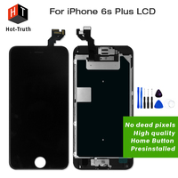 E Trust 10PCS LOT No Dead Pixel For IPhone 6S Plus LCD Display Touch Screen Replacement
