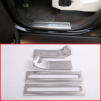 TOP Quality Stainless Inside Door Sill Scuff Threshold Protector Plate Cover For Land Rover Discovery 5