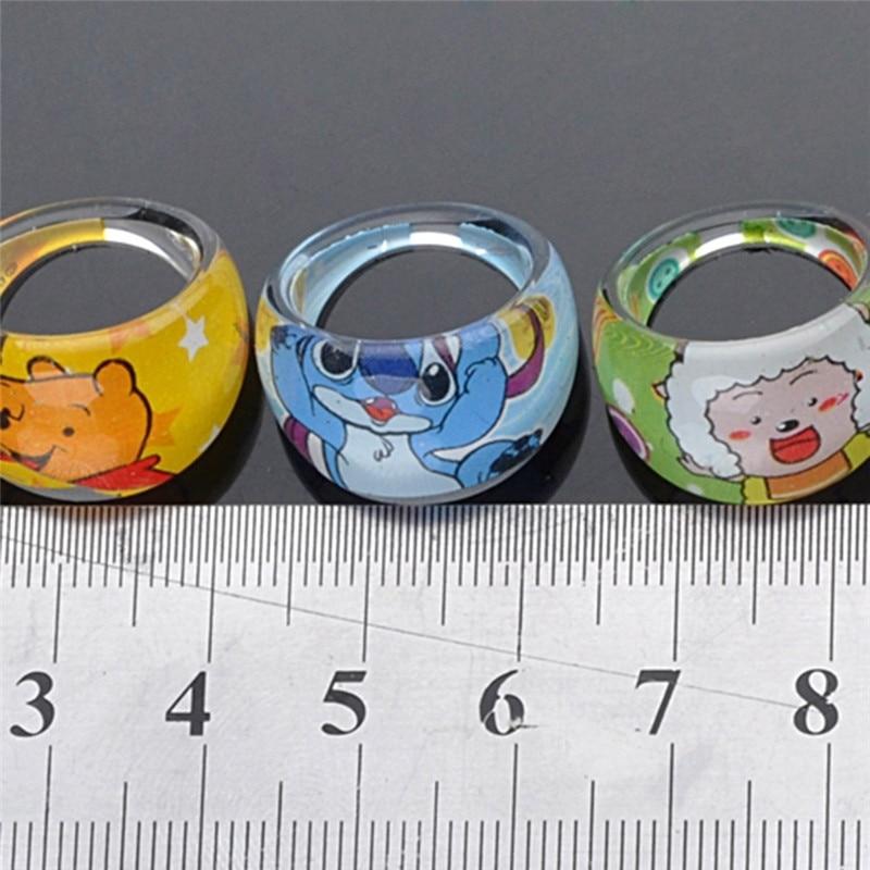 8ed4b86ae Wholesale 10pcs/Pack Lovely Cartoon Kids Resin Rings Send Randomly Children  Kids Girls Patrol Rings Event Birthday Supplies-in Rings from Jewelry ...