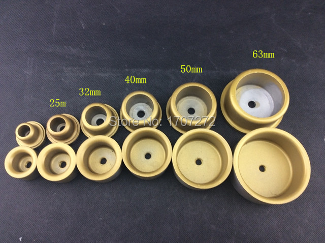 (6pcs/set) Welding Parts, Die Head, 20mm -63mm Thick Welding Mold, PPR,PE,PB Water Pipe Hotmelt Butt Welding