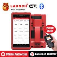 Launch X431 Pro Pros mini OBD2 Diagnostic WiFi Bluetooth OBDII Diagnostic Scanner ECU Coding Automotive Tools as Launch x431 V 8