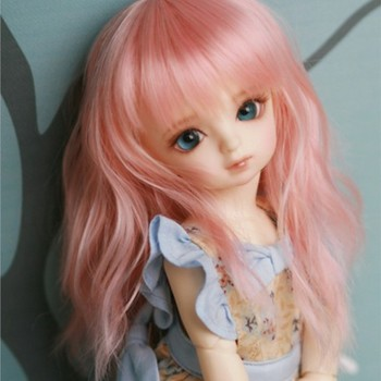 doll accessories 1/6 Bjd wig doll hair wig long straight bangs soft waves curly wavy girl woman doll wig - c16 doll accessories 1 3 1 4 1 6 bjd wig doll hair lon straight girl wig multicolour available high wire faux fur wig fb12