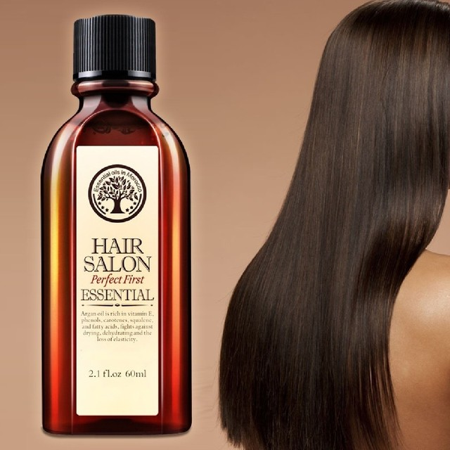60Mlโมร็อกโกArgan Oilผลิตภัณฑ์ดูแลเส้นผมEssential Oil Nourish Scalp Repair Dry Damage Hair Treatmentกลีเซอรอลน้ำมันอ่อนนุชHairdressing